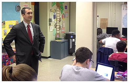 E.DePasquale at Obama Academy Classroom