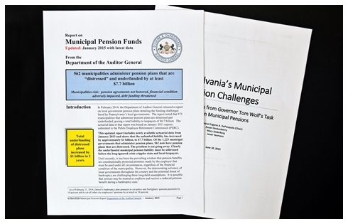 Municipal Pension Funds